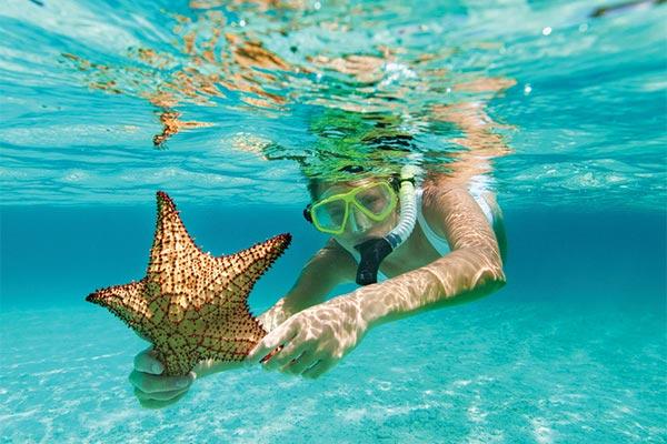 Snorkeling in Cap Cana